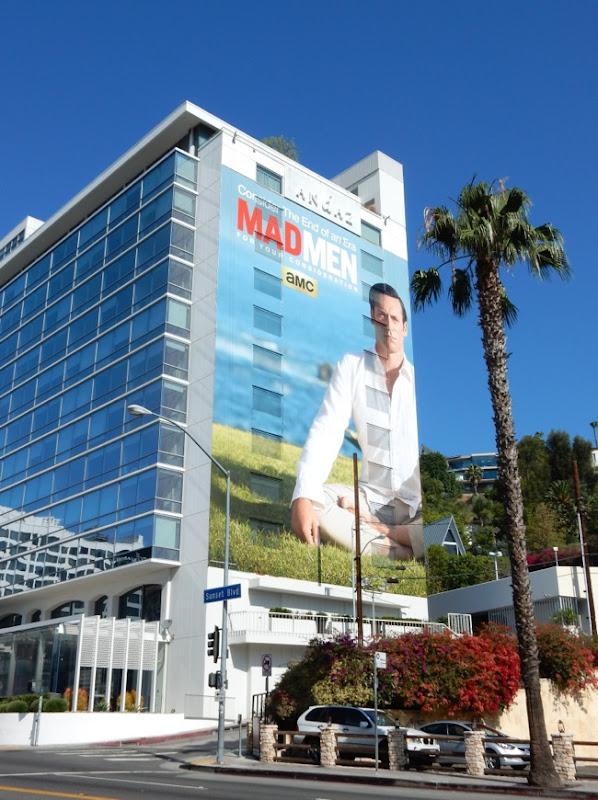 Giant Mad Men Emmy 2015 billboard