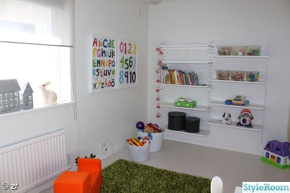 Papel pintado para un dormitorio infantil n rdico blanco - Dormitorio infantil blanco ...