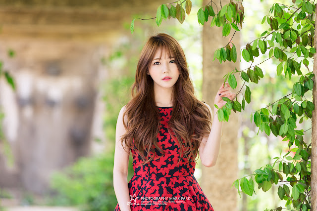 10 Han Ga Eun - Lovely Ga Eun In Outdoors Photo Shoot - very cute asian girl-girlcute4u.blogspot.com