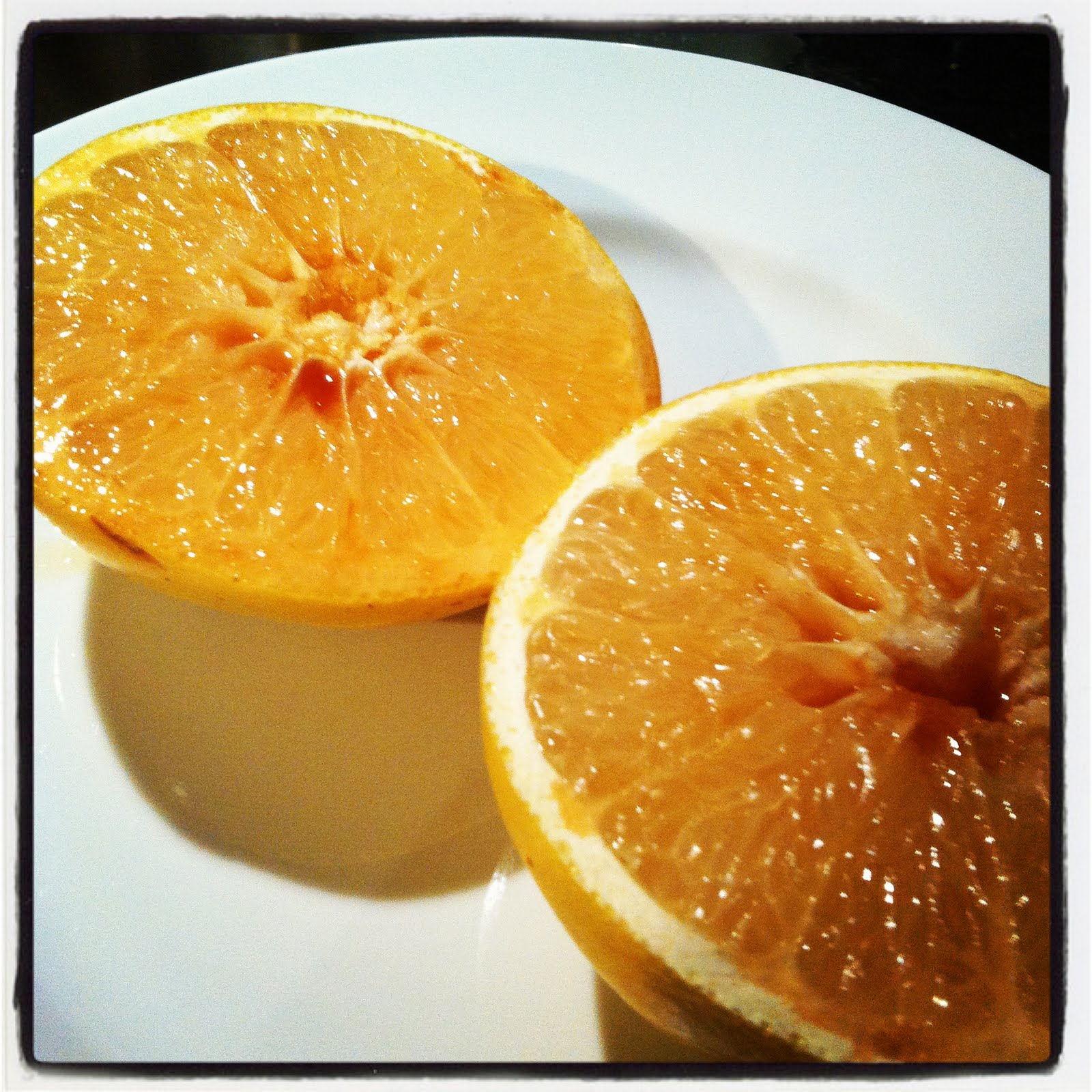 Brown Sugar Broiled Grapefruit - Lovely Little Things
