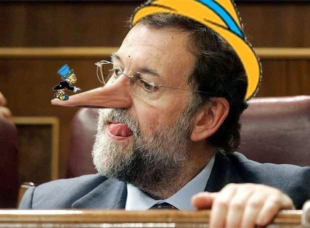 Mariano Rajoy alias Pinocchio
