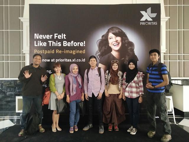 Blogger Bandung di acara launching XL Prioritas