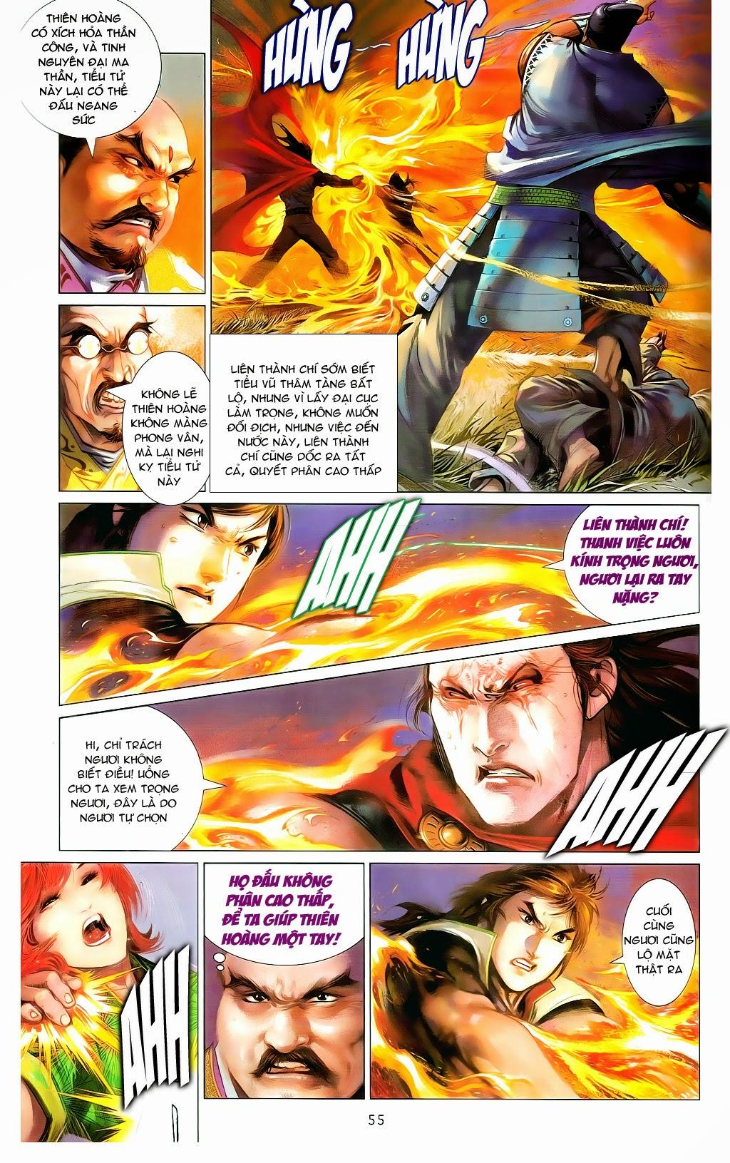 Phong Vân Chap 665 - Trang 54