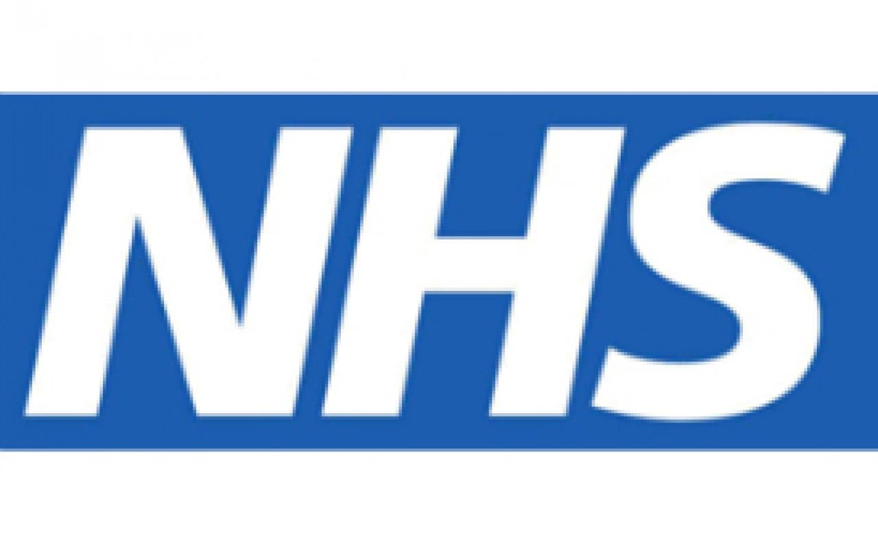 NHS logo,