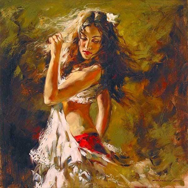 pintura de beleza