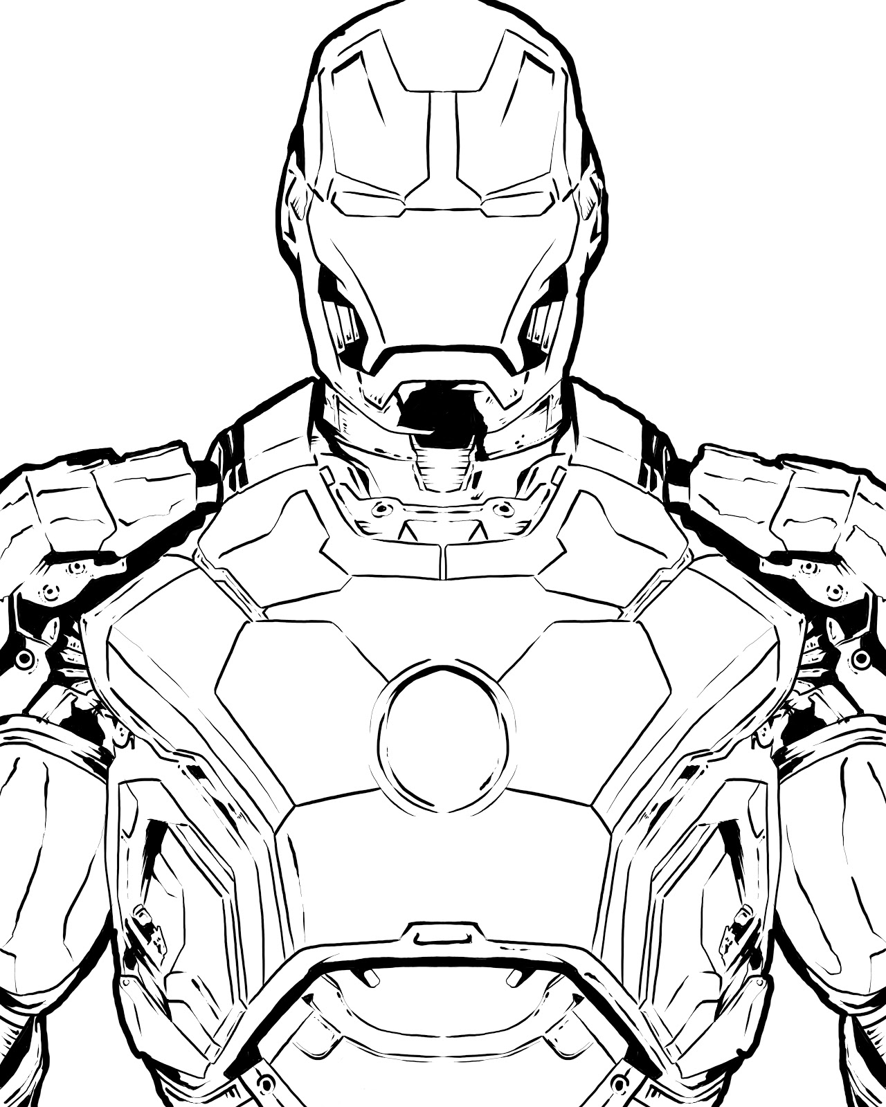 iron man armor sketch images pictures becuo - Iron Man Coloring Pages Mark