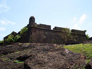 Chapora Fort, Goa