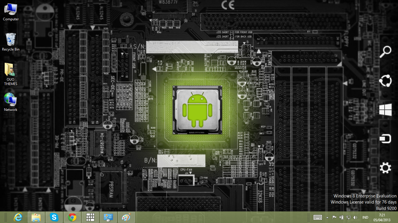 DOWNLOAD ANDROID THEME FOR WINDOWS