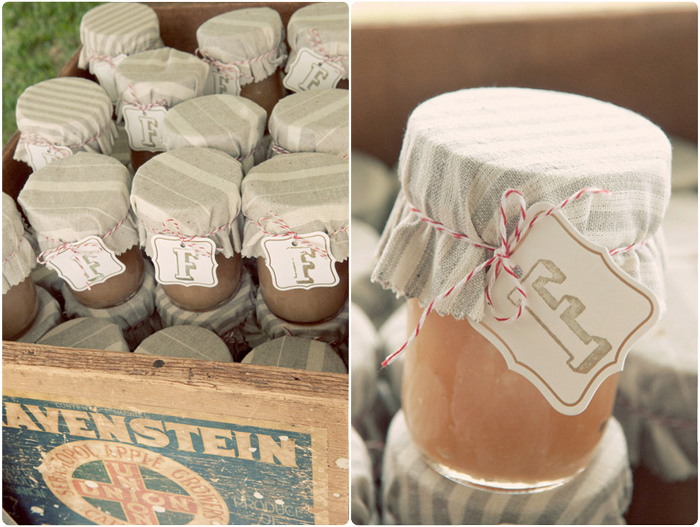 Inspiration For Weddings Invitations And Stationery Jam Jar Wedding Favours