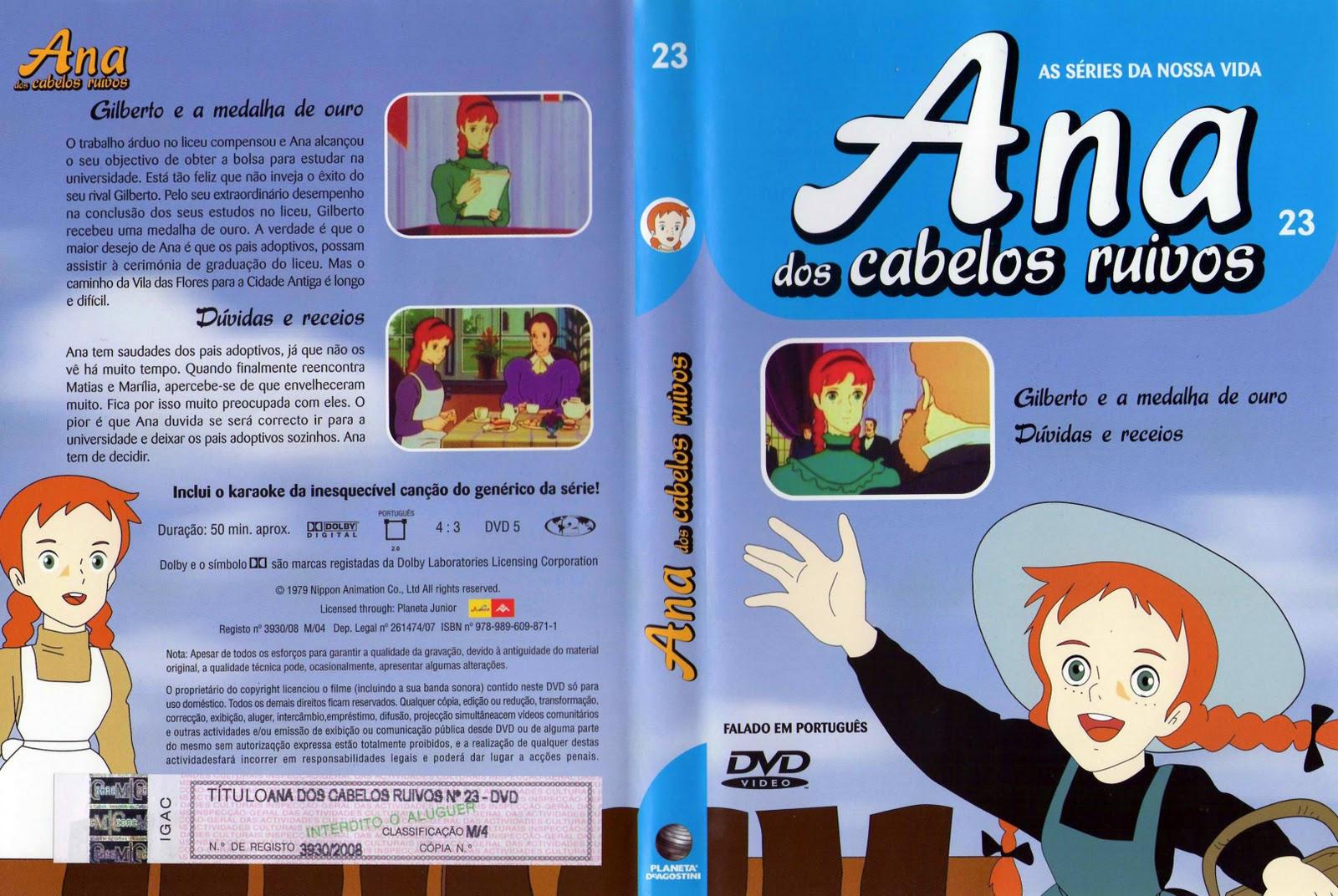 Ana dos Cabelos Ruivos Vol.1 A 25  PT-PT Ana+dos+Cabelos+Ruivos+Vol.23+%28capa%29