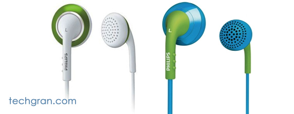 Philips Color Tune In-Ear Headphones