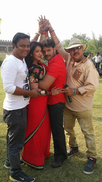 Khesari Lal Yadav & Sweety Chabara's 'Hogi Pyar Ki Jeet' Film second schedule starting soon.
