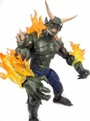 "Hasbro 6"" Amazing Spider-Man Marvel Legends - Ultimate Green Goblin Build-a-Figure BAF"