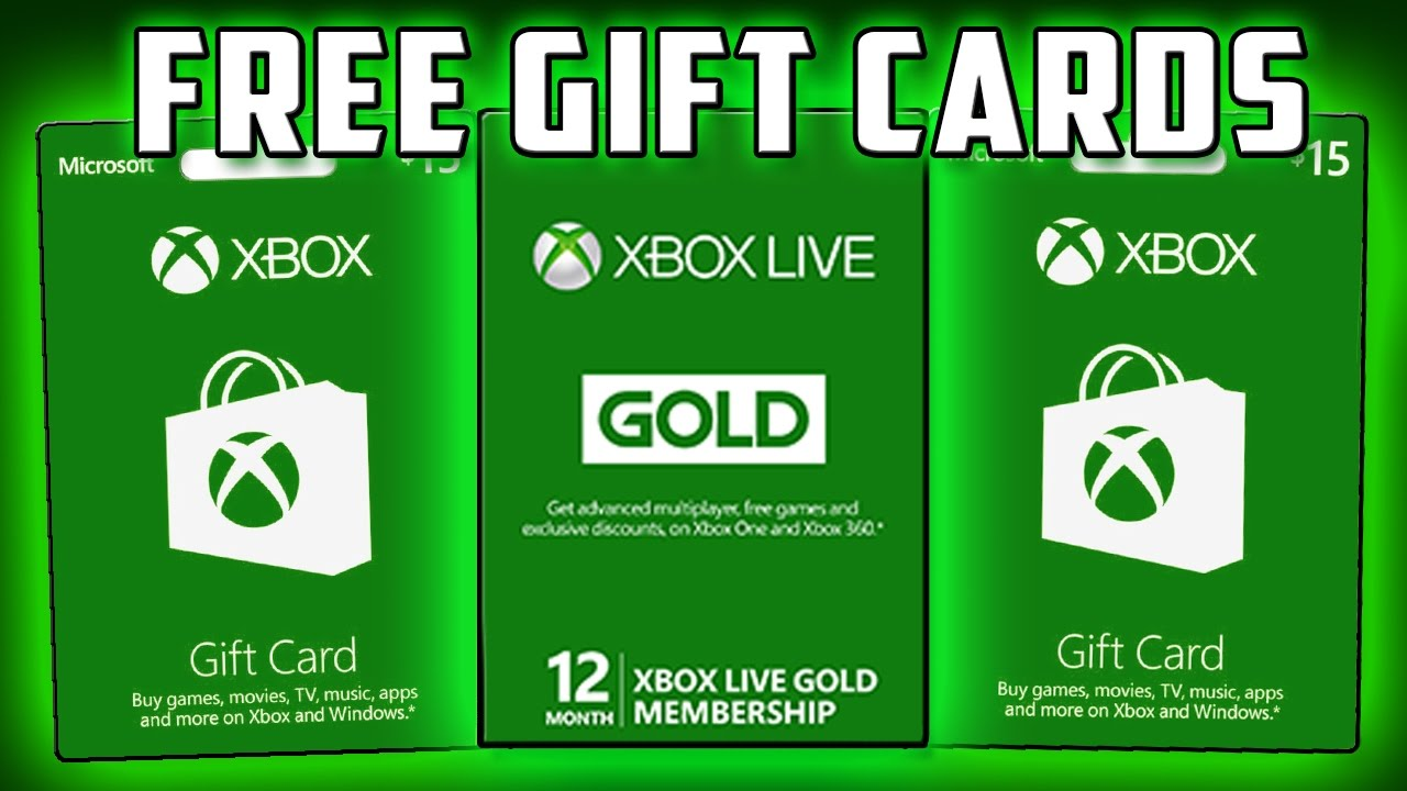 Get 50$ Xbox Gift Cards