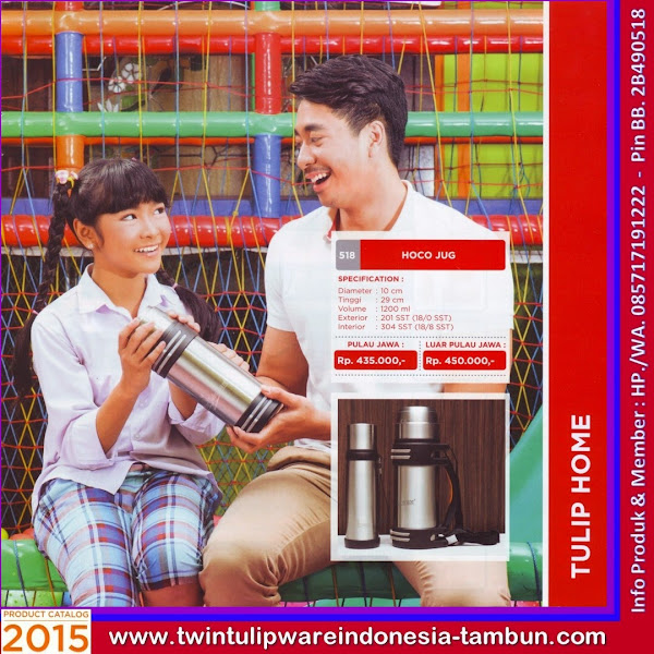 HoCo Jug, Thermos Tulipware 2015 Besar