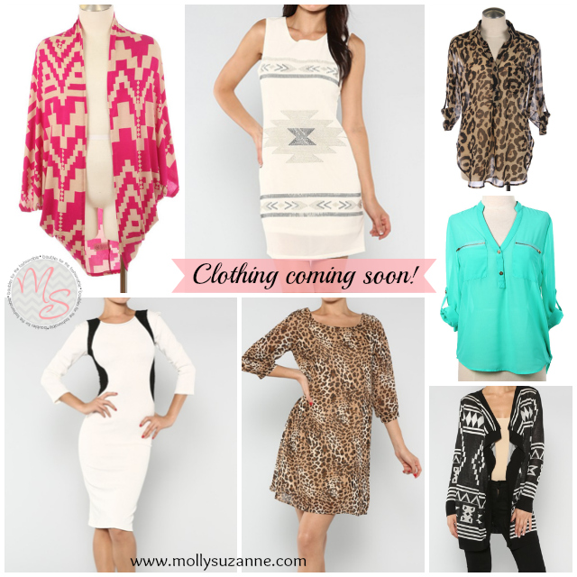 online boutique, leopard tunic, molly suzanne, aztec cardigan