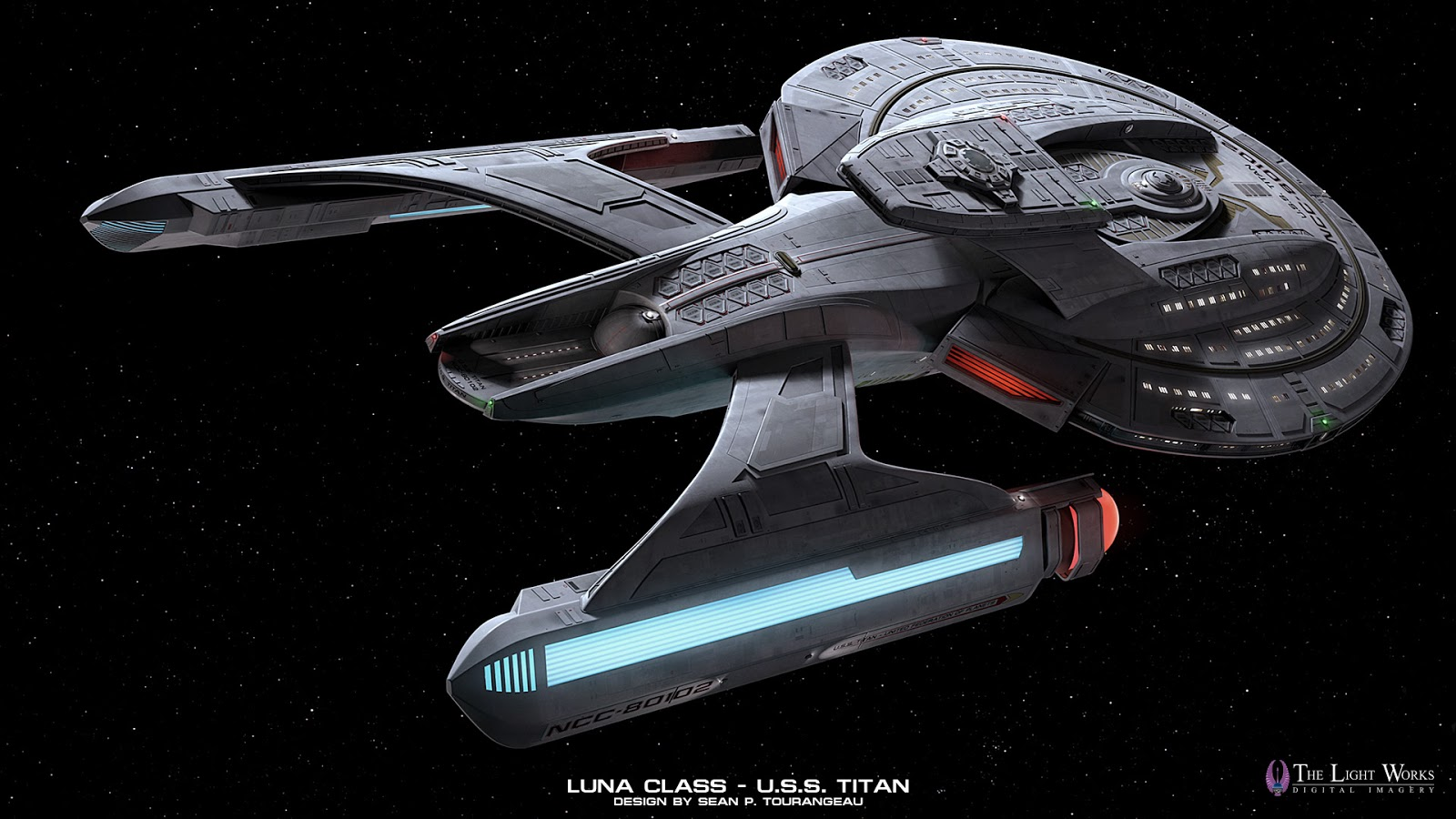 Star Trek Titan Tv Series Unveiling The USS TITAN