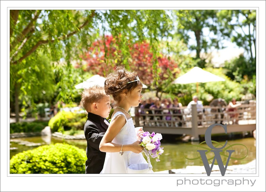Japanese Garden Wedding, Long Beach