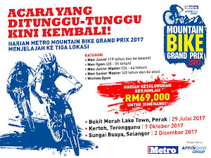 Harian Metro MTB Challlenge 2017 @Sungai Buaya - 2 December 2017