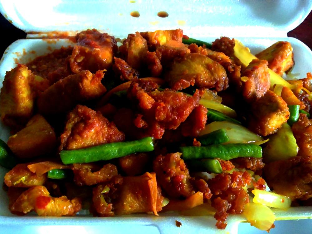 Resepi Nasi Ayam Goreng Kunyit Pedas