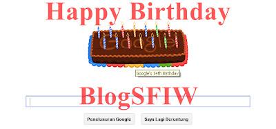 Selamat Ulang Tahun Google