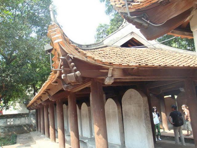 Le temple littérature au Viet Nam - Photo An Bui
