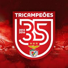 Benfica Tricampeão 2015/2016