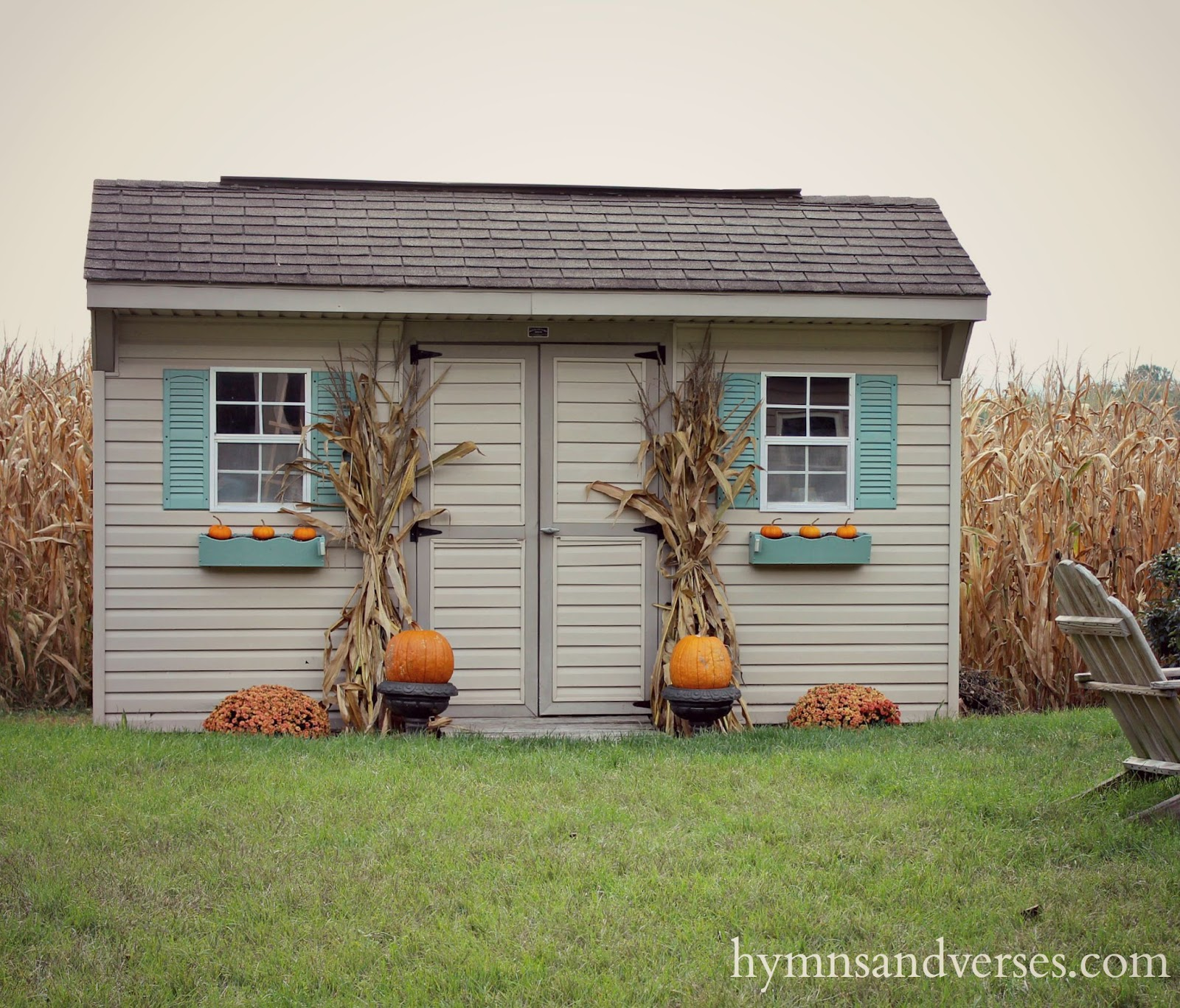 Easy Fall Outdoor Decor