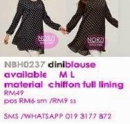 NBH0237 DINI BLOUSE