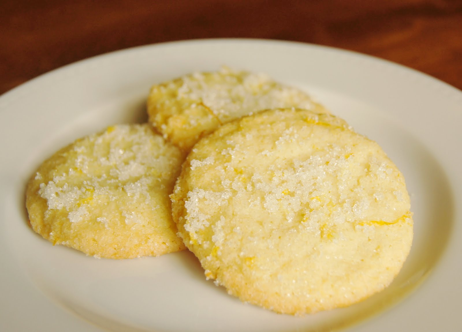 ... Like a Snickerdoodle in New Clothes: Giant Chewy Lemon Sugar Cookies