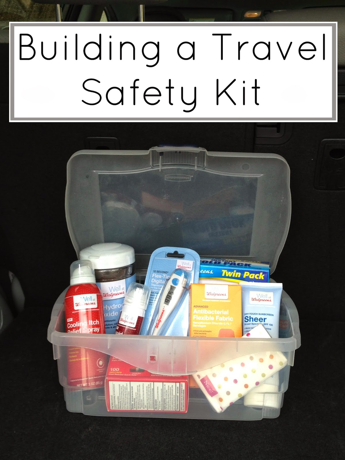 Building a Travel First Aid Kit #WellAtWalgreens #CollectiveBias