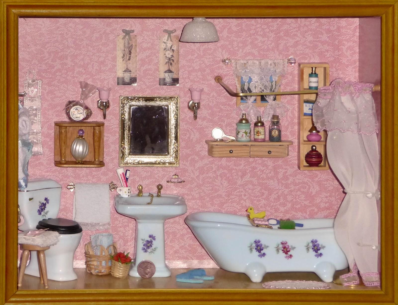 Morandi sisters microworld bathroom roombox bagnetto - Bagno in miniatura ...