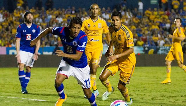 Ver partido Tigres vs Cruz Azul en vivo
