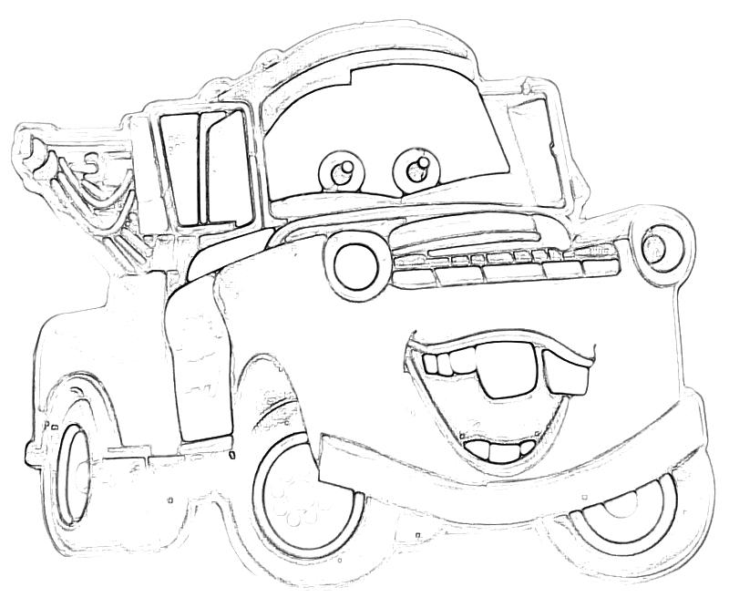 coloring pages mater cake ideas and designs