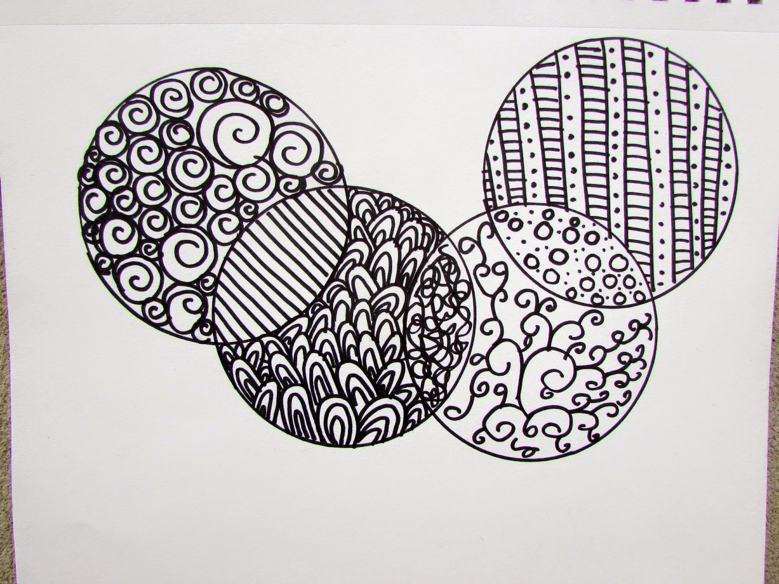 A lively hope art journaling with kids simple zentangle for Drawing design ideas