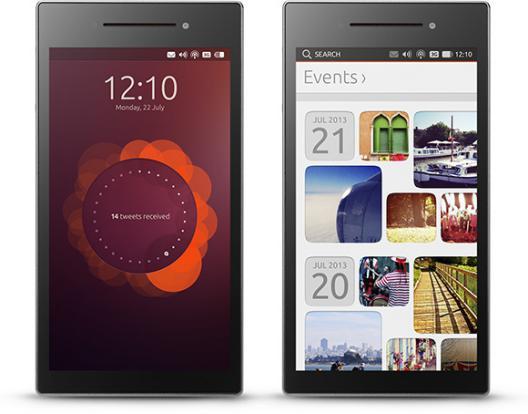 Ubuntu phone concept