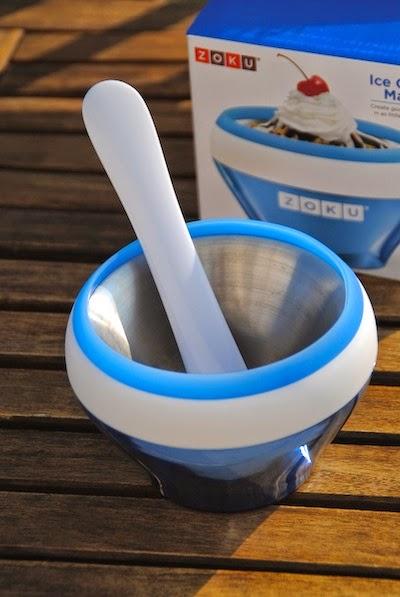 bol para hacer helado instantáneo Zoku