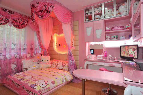 construindo minha casa clean quarto dos sonhos de meninas. Black Bedroom Furniture Sets. Home Design Ideas