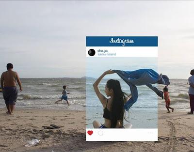 Lo que hay tras las fotos de Instagram (Postureo)