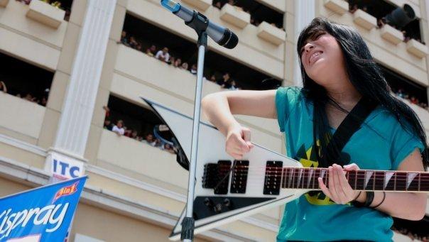 Foto Gitaris Prisa Adinda