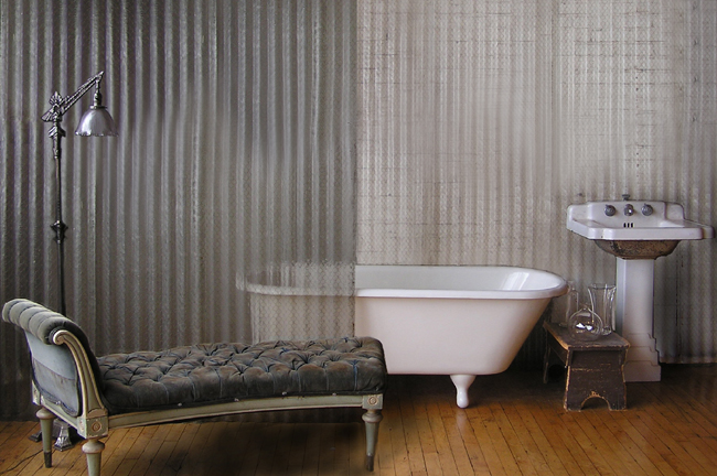 Neutral heaven interior design and mood creation grey for Bathroom chaise lounge