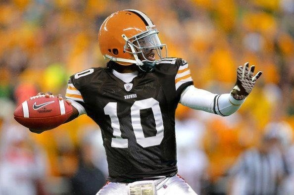 Robert Griffin III as Cleveland Brown
