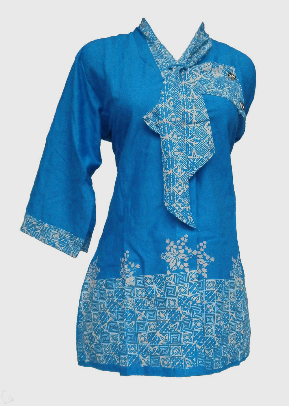 Model Jubah Batik | hairstylegalleries.com