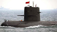 Chinese submarines in Indian Ocean |