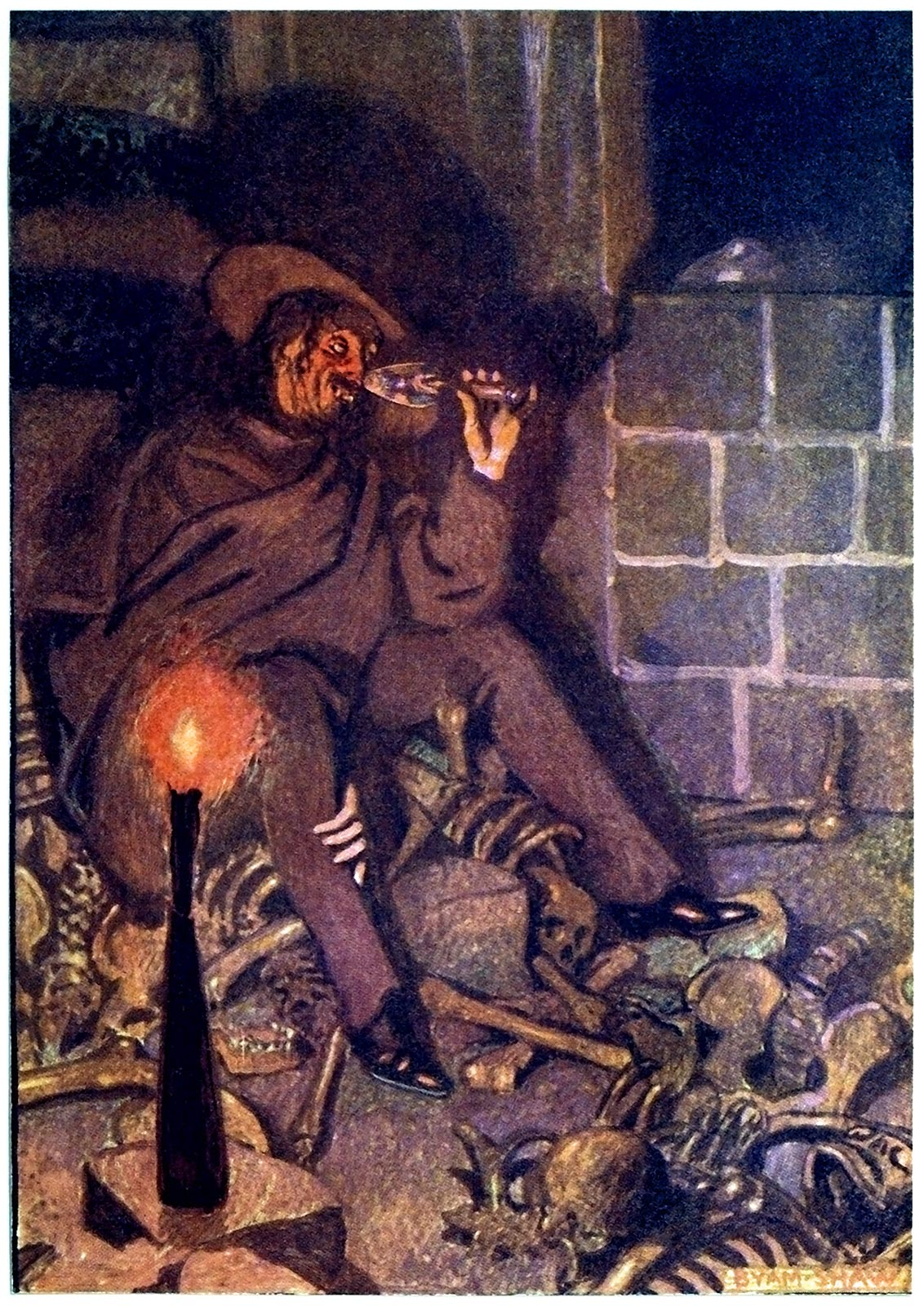 a comparison of edgar allan poes stories the fall of the house of usher and the cask of amontillado Cask of amontillado by edgar allan poe  edgar allan poes life impact  though both the stories the fall of the house of usher and the telltale heart by.