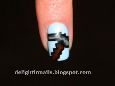 Minecraft Pickaxe Manicure