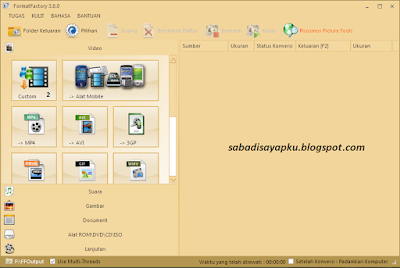 Download Format Factory v3.8 Terbaru Full Version