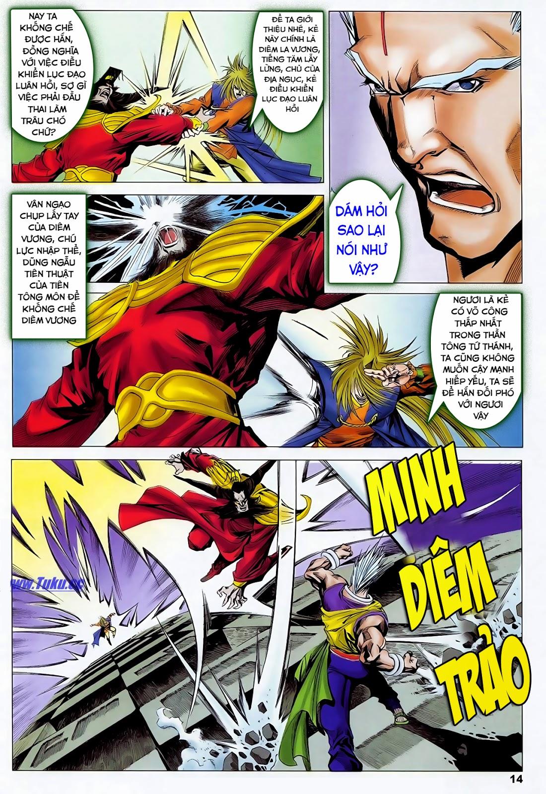 Lục Đạo Thiên Thư chap 47 - Trang 16