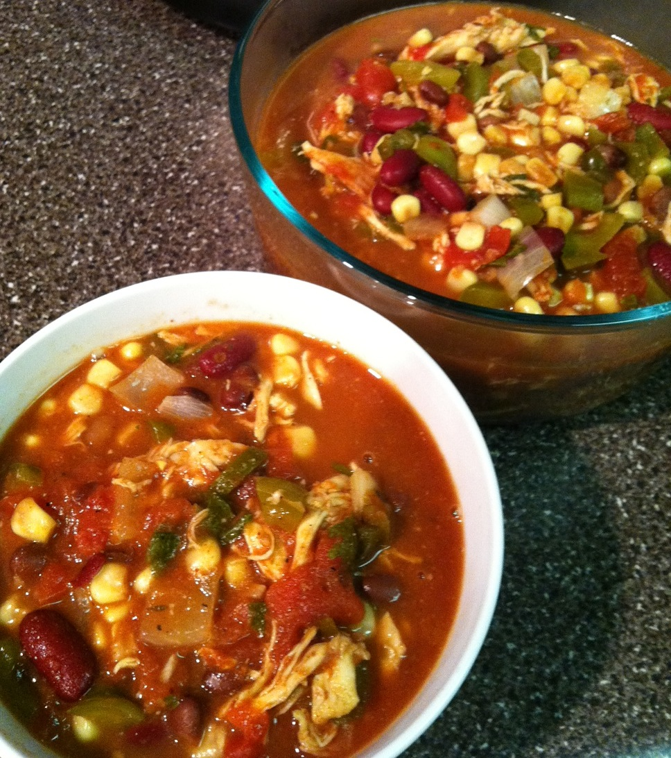 Tonight for Supper: September 8-Crock Pot Chicken Taco Chili