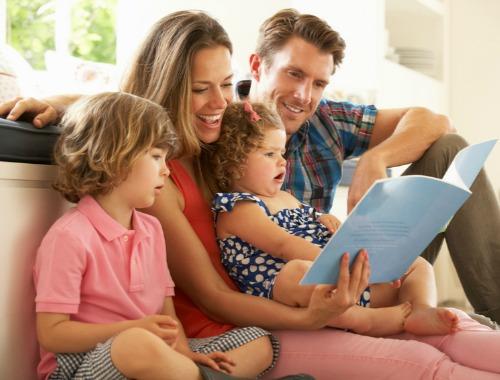 Lectura en familia